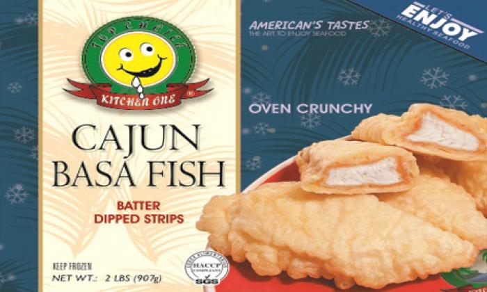 Cajun Basa Fish