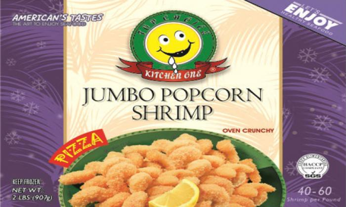 Jumbo Popcorn Shrimp Pizza