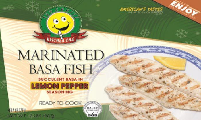 Marinated Basa Fish