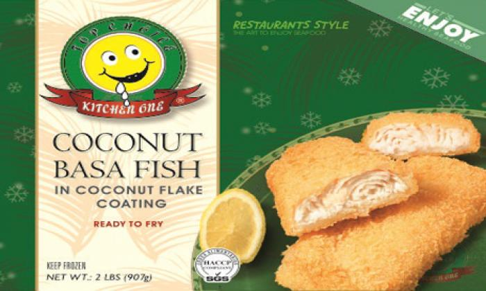 Coconut Basa Fish