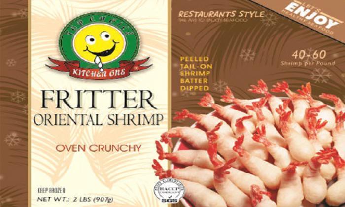 Fritter Oriental Shrimp