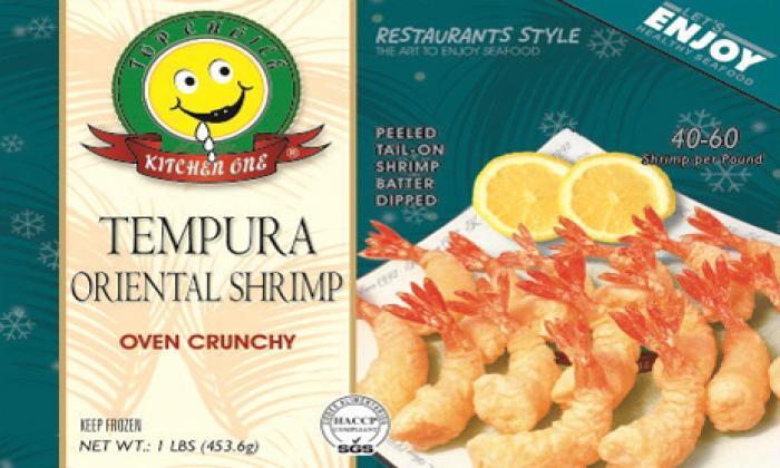 Tempura Oriental Shrimp Oven